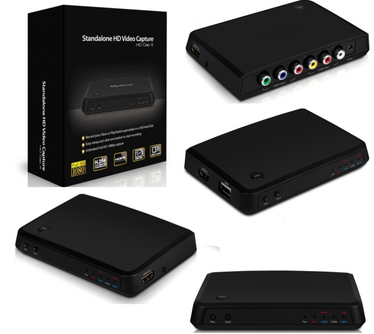 Game Capture HD Box Acquisizione Video da HDMI RCA YPbrPr HDCP ( Decoder / VHS / Console Xbox Nintendo Playstation PS1 PS2 PS3 PS4)
