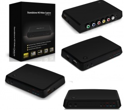 Game Capture HD Box Acquisizione Video Full HD 1080 da HDMI RCA SCART YPbrPr HDCP ( Decoder / VHS / Console Xbox Nintendo Playstation PS1 PS2 PS3 PS4)